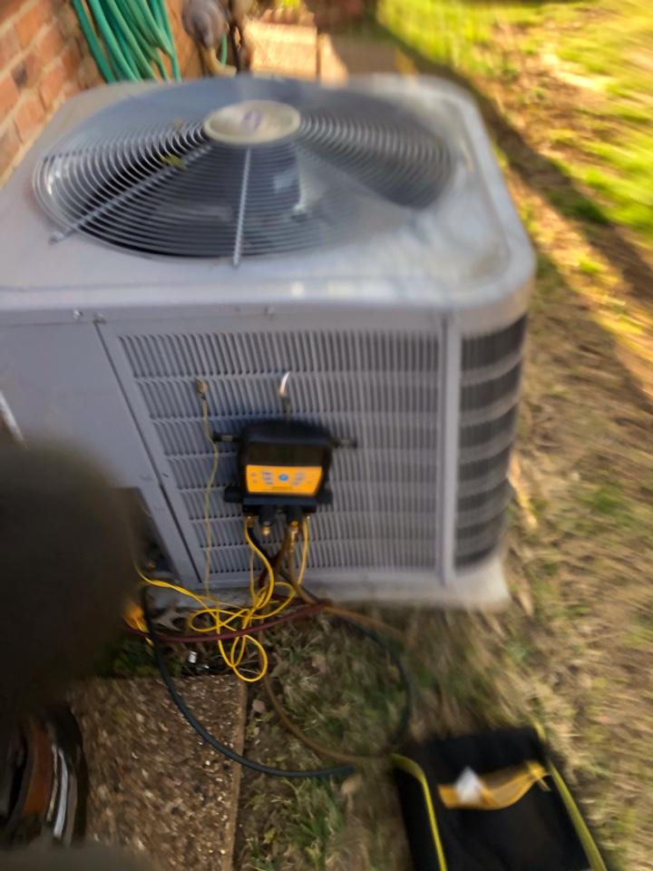 Lewisville, TX - 2 CARRIER AC maintenance