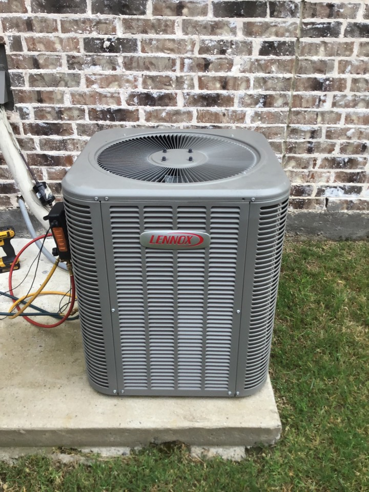 Prosper, TX - Air conditioning maintenance and coil cleaning