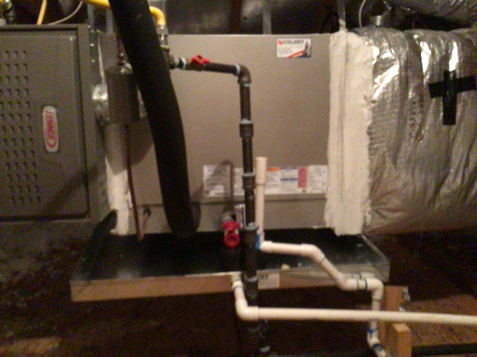 Little Elm, TX - Remove Lennox 5 ton coil and installed a new 5 ton carrier coil