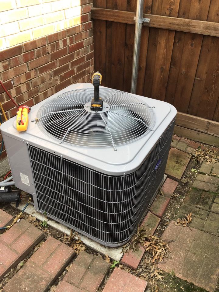 Carrollton, TX - Air conditioning maintenance, AC maintenance, AC tune up, air conditioning company, coil cleaning