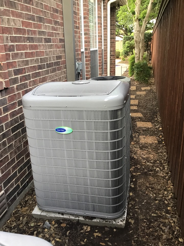 Carrollton, TX - New Carrier Infinity complete system install.
