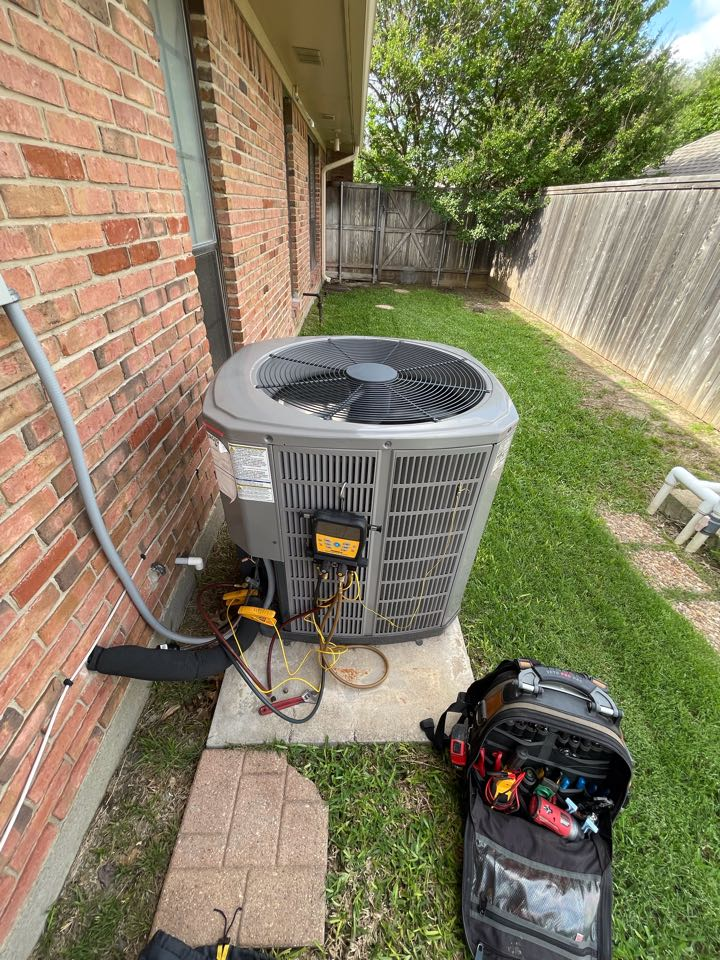 Plano, TX - American Standard AC maintenance