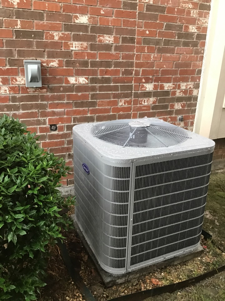 Lewisville, TX - New Carrier complete system install.
