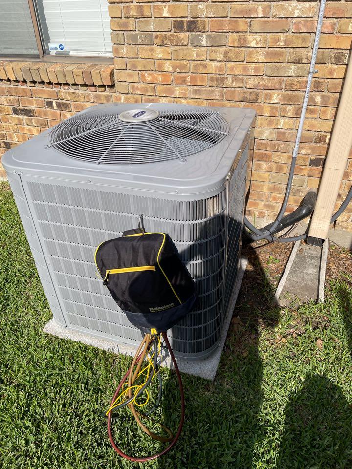 Carrollton, TX - Carrier AC maintenance