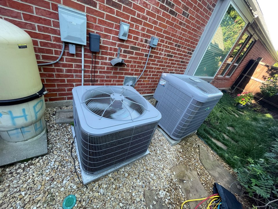 Coppell, TX - CARRIER AC maintenance