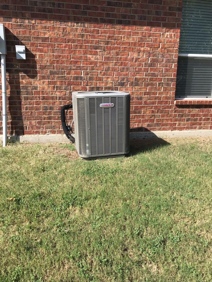 McKinney, TX - Ac service on lennox system in McKinney
