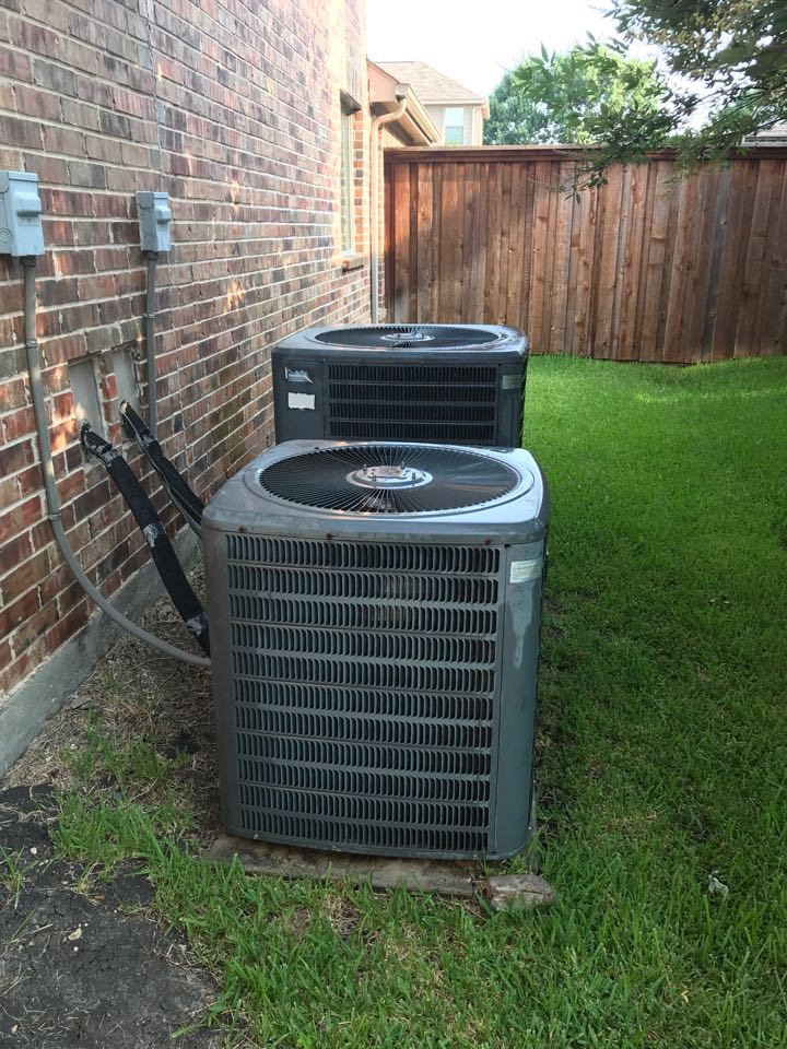 Little Elm, TX - Air conditioning tuneups, washing coils,  air filter replacement