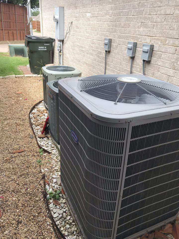 Plano, TX - Air conditioning repair