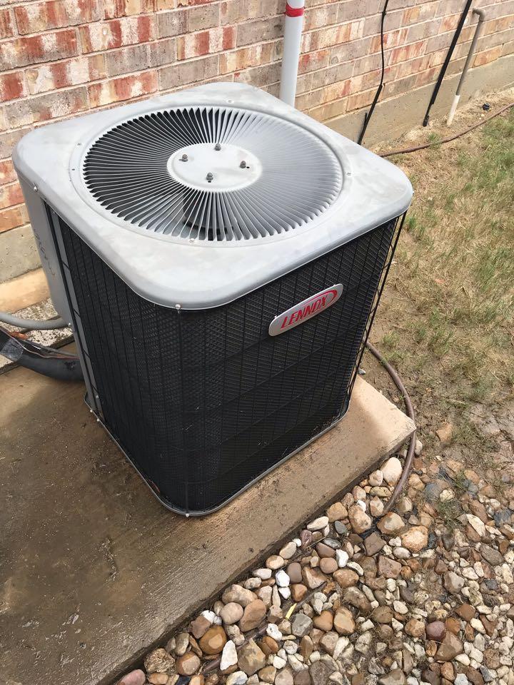 Frisco, TX - Lennox air conditioning tuneup