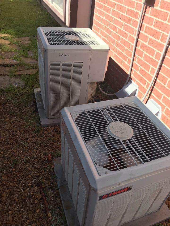 The Colony, TX - Air conditioning tuneup, 2001 systems, cooling