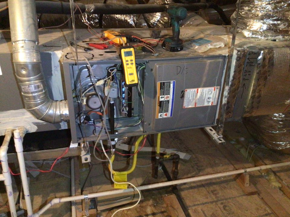 The Colony, TX - Performed a heating tune up on three gas Furnaces