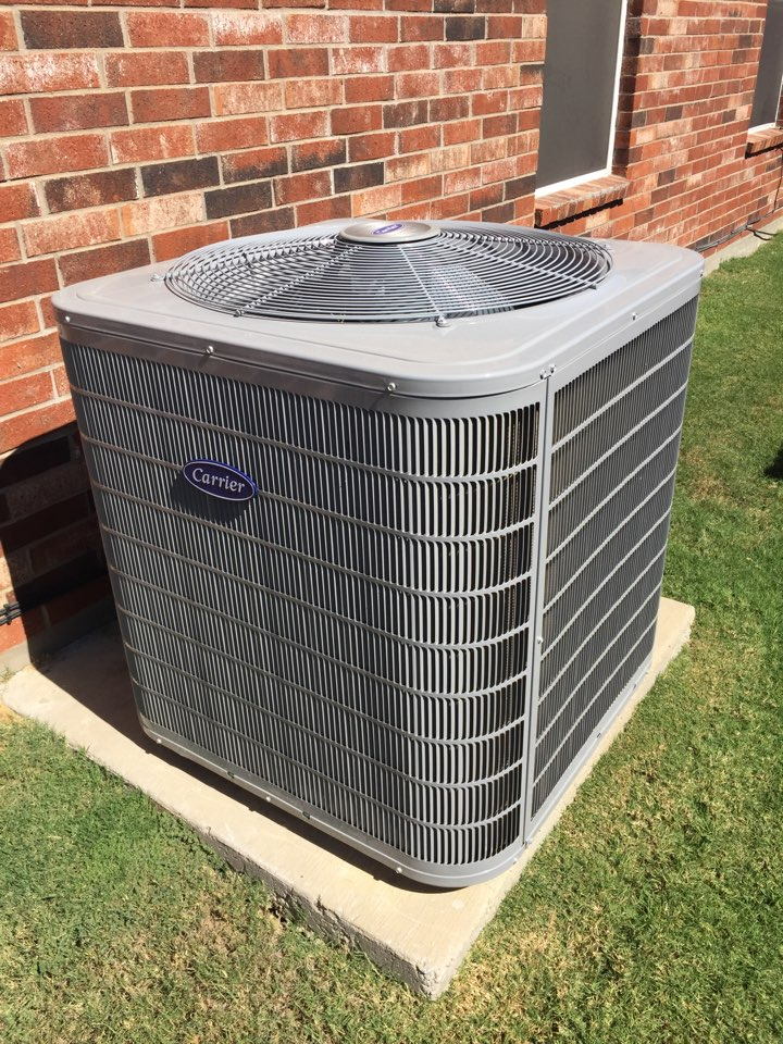 Oak Point, TX - Heating tune up And repair on this Carrier heat pump