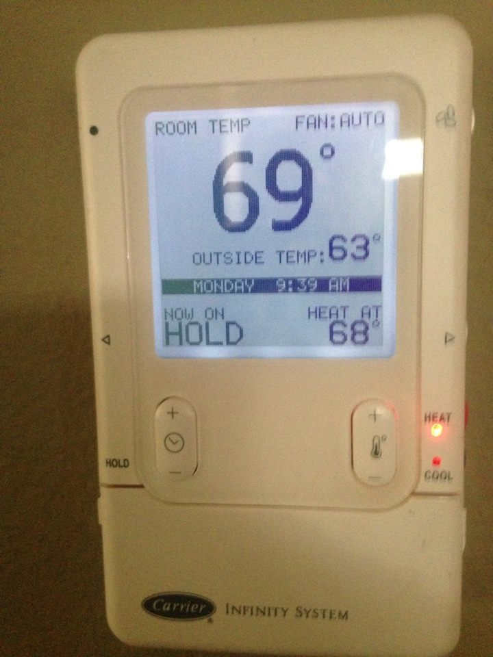 Addison, TX - This tune up of a Carrier Infinity ac system went well. Ready for Summer.