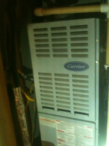 Richardson, TX - Carrier furnace pm completed
