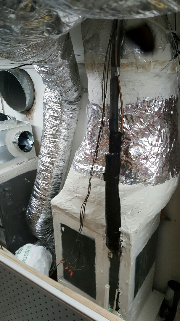 Addison, TX - Duct work