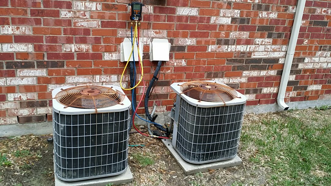 The Colony, TX - air conditioning repair service and complete ac maintenance on these ac systems.