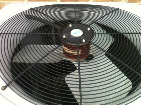 Farmers Branch, TX - An air conditioning tune up of home with 3 Carrier AC systems. Everything is ready for another Summer
