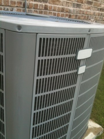 Prosper, TX - Air conditioning maintenance visit.