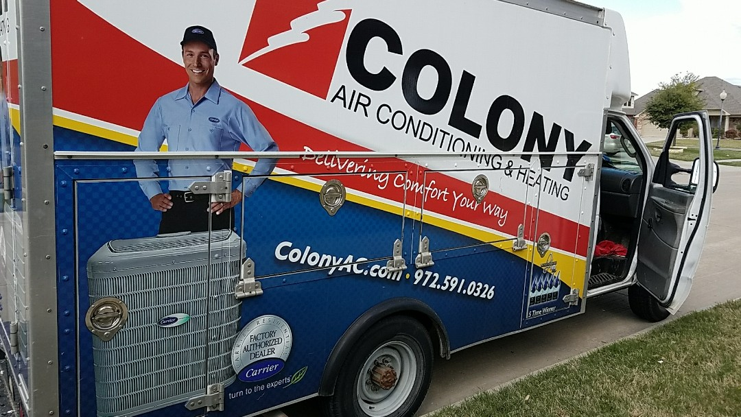Little Elm, TX - We are doing an air conditioning and heating replacement installation today in Little Elm.
