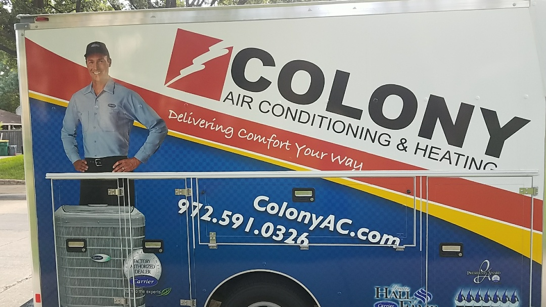 Lewisville, TX -  Here we did a complete air conditioning and heating replacement equipment installation.