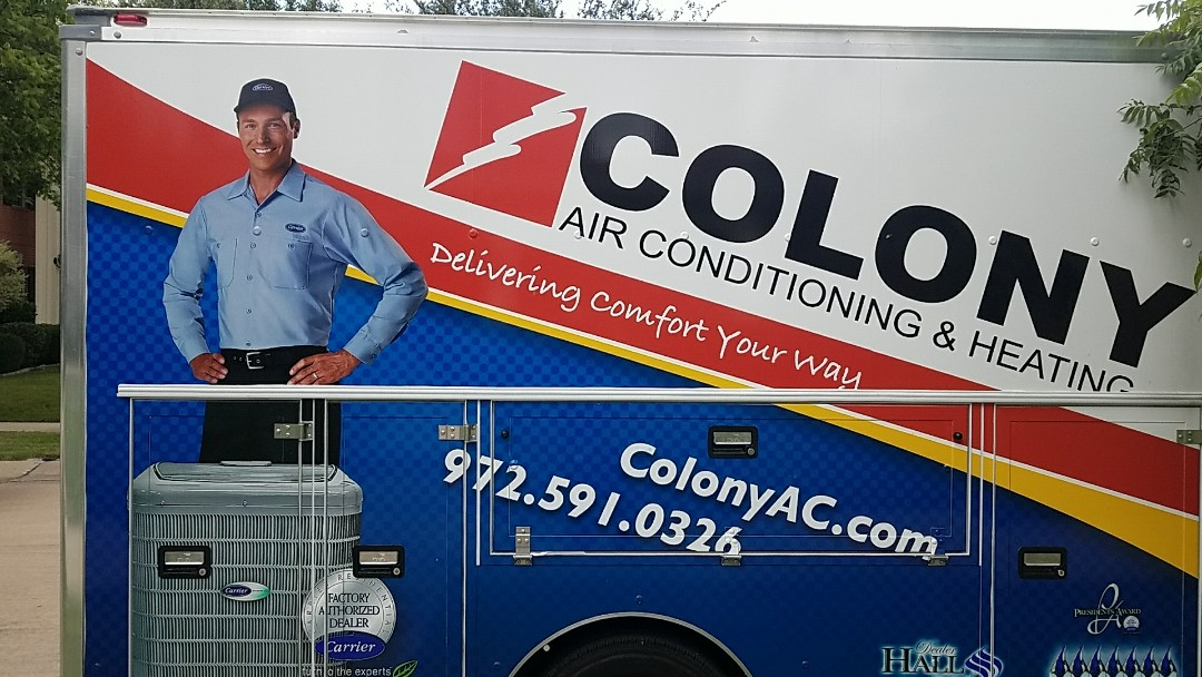 Lewisville, TX -  air conditioning and heating replacement equipment installation completed today.