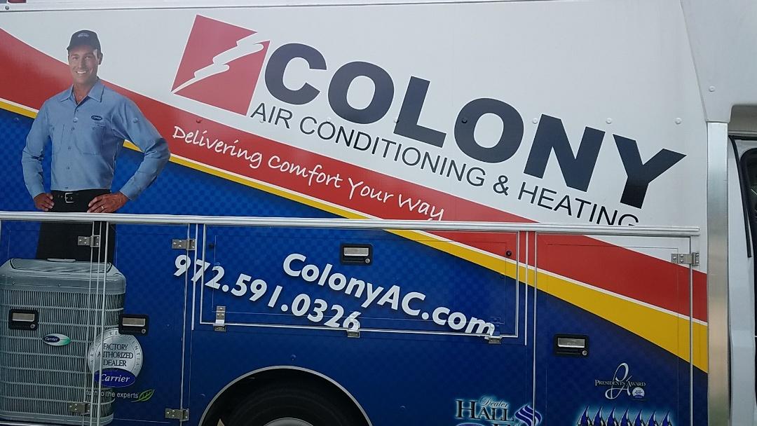 McKinney, TX - air conditioning and heating equipment installation.
