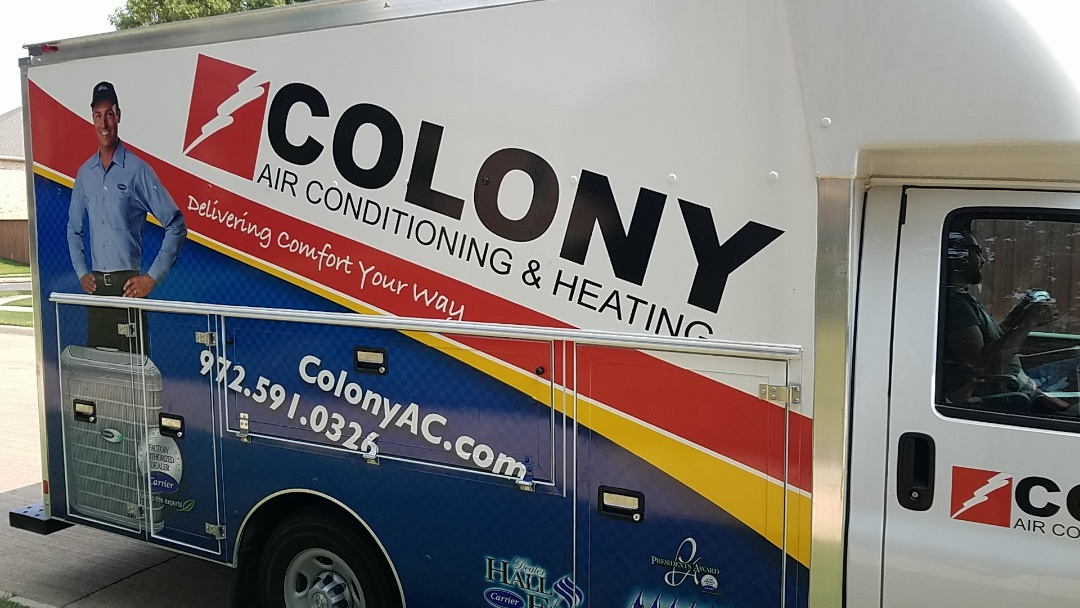 Plano, TX - Here in Plano today and did an air conditioning and heating equipment installation