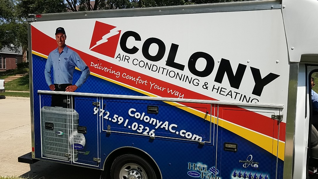 The Colony, TX - we did air conditioning system installation today in the colony.