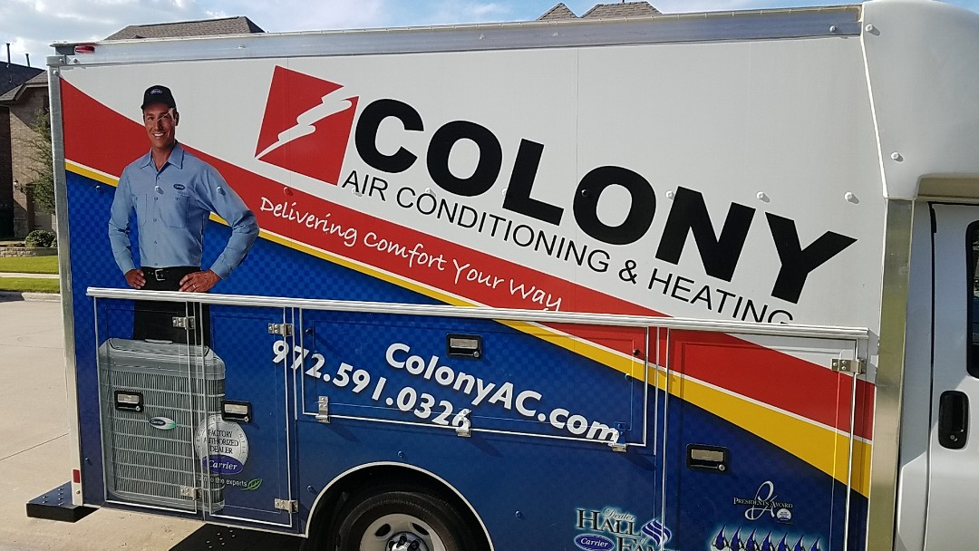 Little Elm, TX - we did an air conditioning and heating equipment installation here in Little Elm.