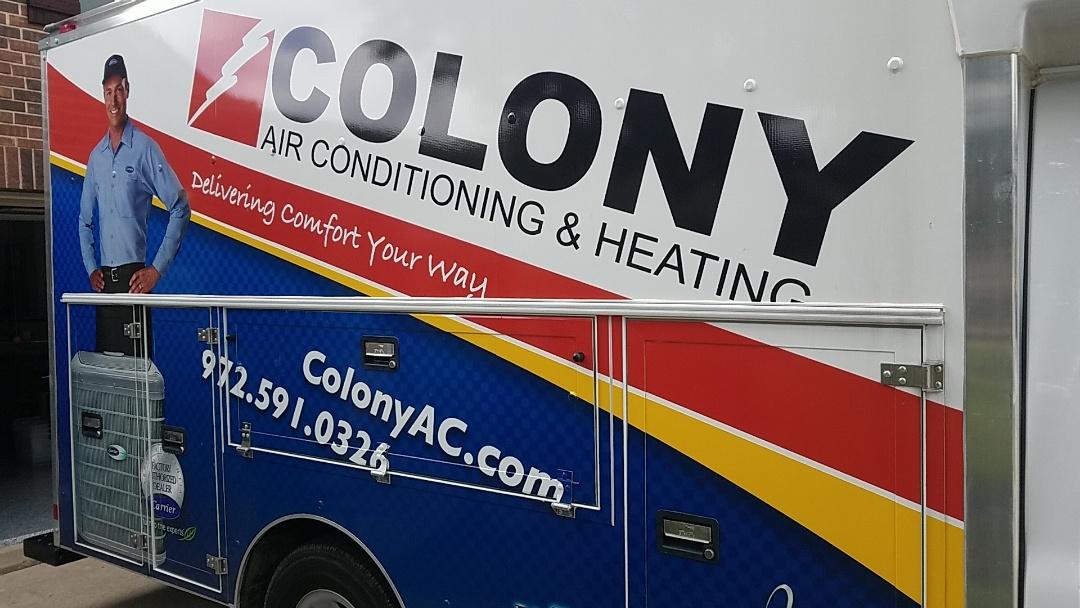 Frisco, TX - air conditioning equipment installation. Evaporator coil and condenser