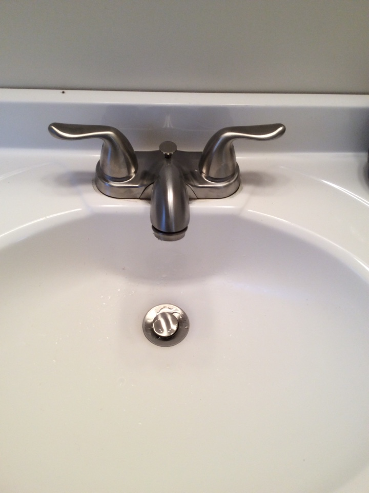 Quincy, MA - Replacing lav faucet