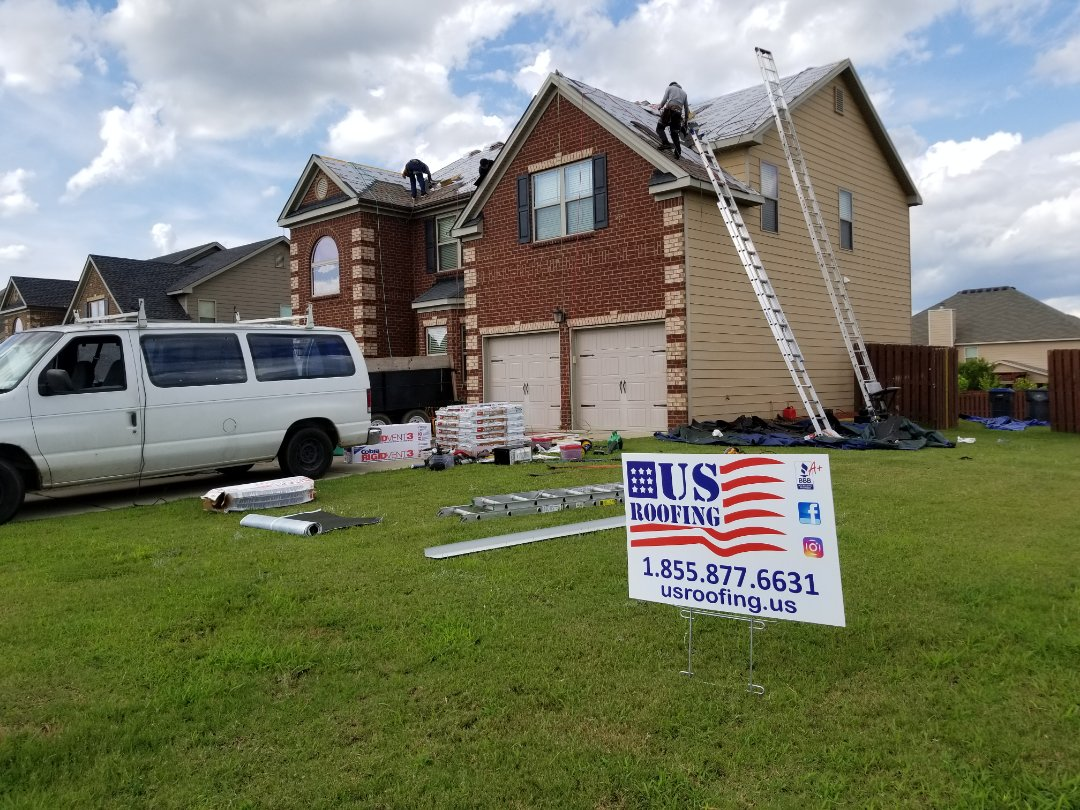 Augusta, GA - Installing a new architectural roof on a house that is 7 years old. Completely paid by Insurance provider.