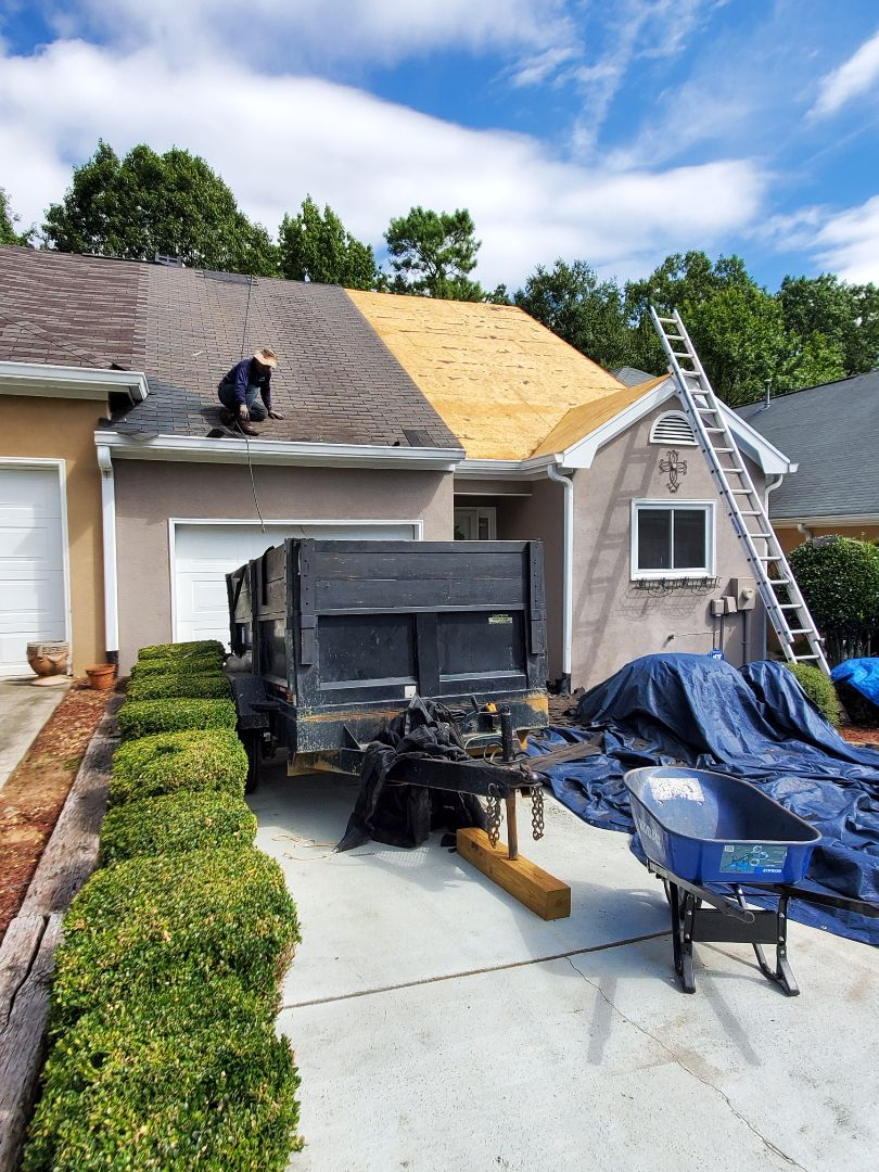 Augusta, GA - Roof Replacement fue to storm damage