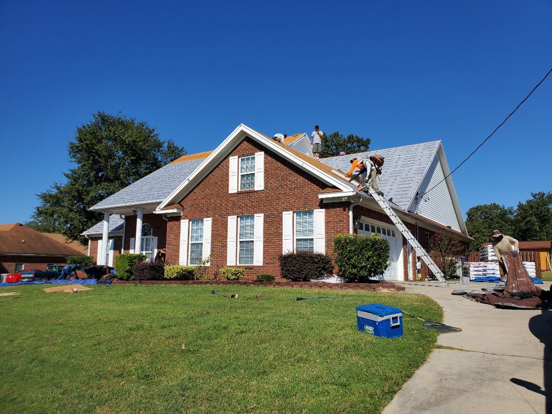 Hephzibah, GA - Roofers in hephzibah replacing a 70 square roof for only $500.00 learn how at www.usroofing.us