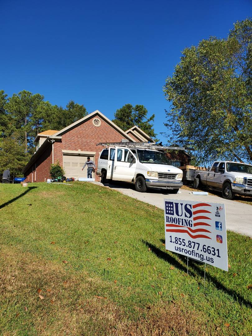 Evans, GA - Complete reroof. USAA paid for this roof after it was denied on 2017. US Roofing got it approved