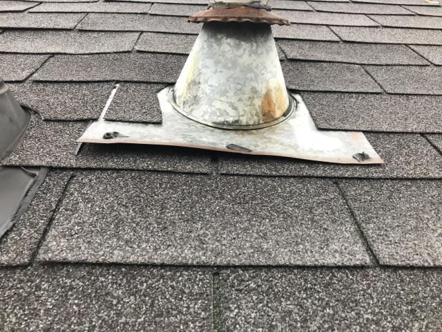 Hephzibah, GA - Did a quick inspection to find a vent lifted by some wind. Roof looked in a good condition. Not every house is a roof replacement but that's why we're here to perform roof inspections.