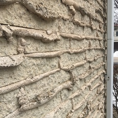 Northbrook, IL - Estimating the removal of weeping mortar for a homeowner in Northbrook, IL.