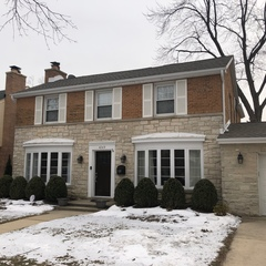 Skokie, IL - Just completed our masonry, caulking and maintenance visit for a homeowner in Skokie, IL.