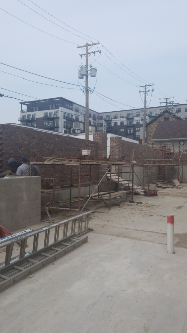 Highland Park, IL - New construction all building with brick