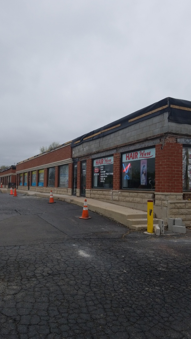 Arlington Heights, IL - New brick facade