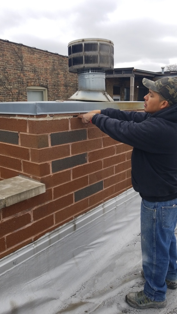 Inspection to a chimney