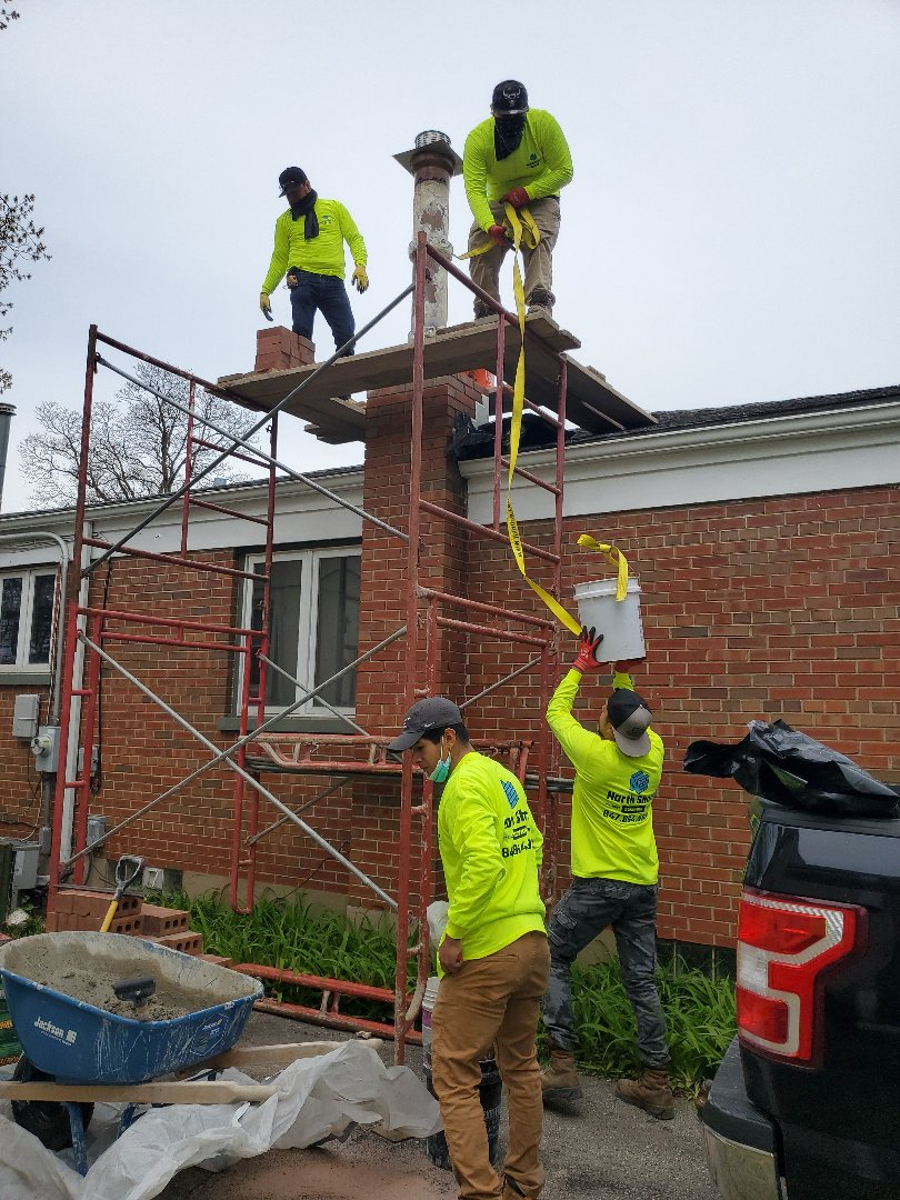 Evanston, IL - Chimney rebuild call NSBW