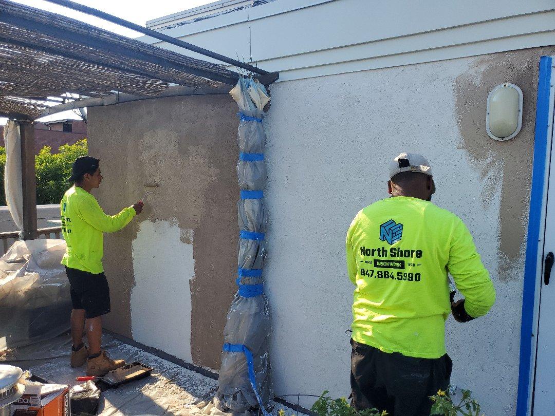 Chicago, IL - Finishing stucco call for any masonry needs NSBW