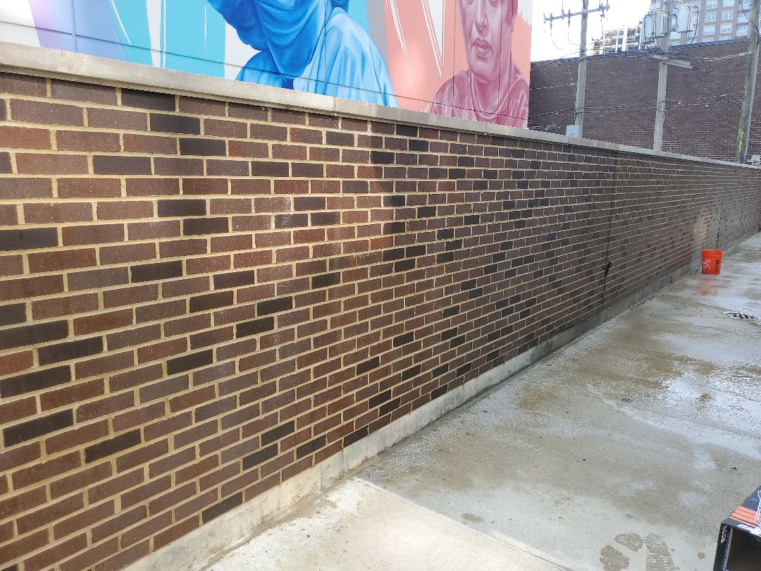 Chicago, IL - New wall done by NSBW call us for your masonry needs