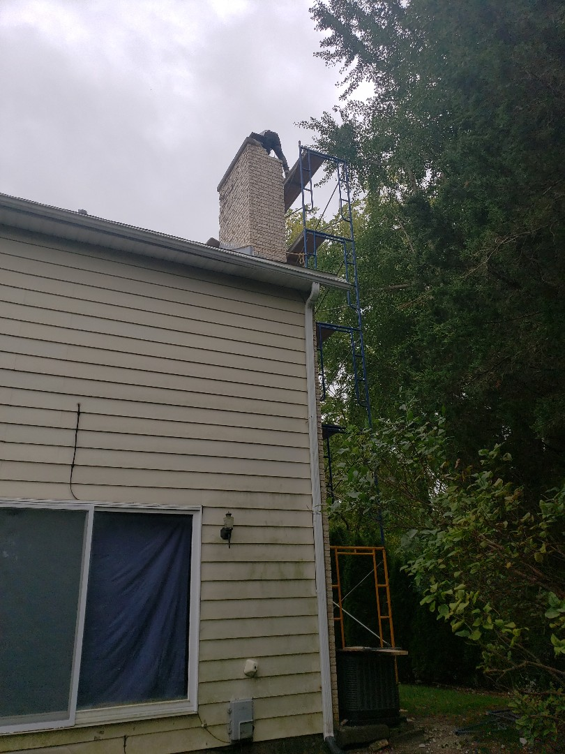 Glenview, IL - Chimney rebuilding