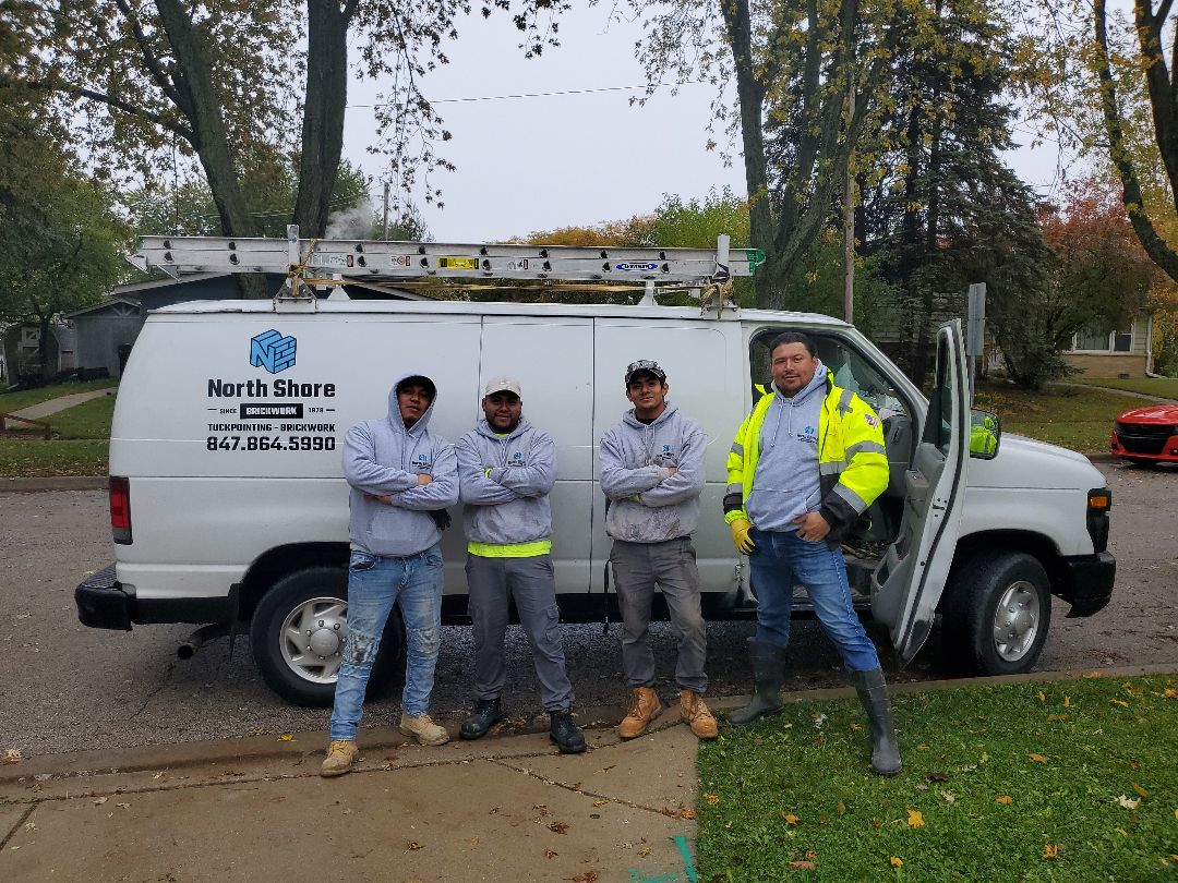 Mundelein, IL - Rain or shine we always there masonry needs