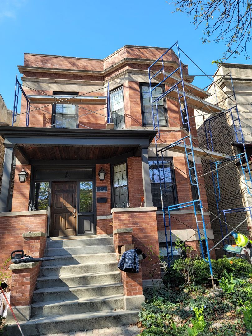 Chicago, IL - Caulking and Tuck Pointing  Call North Shore Brick and Windows for a free estimate.