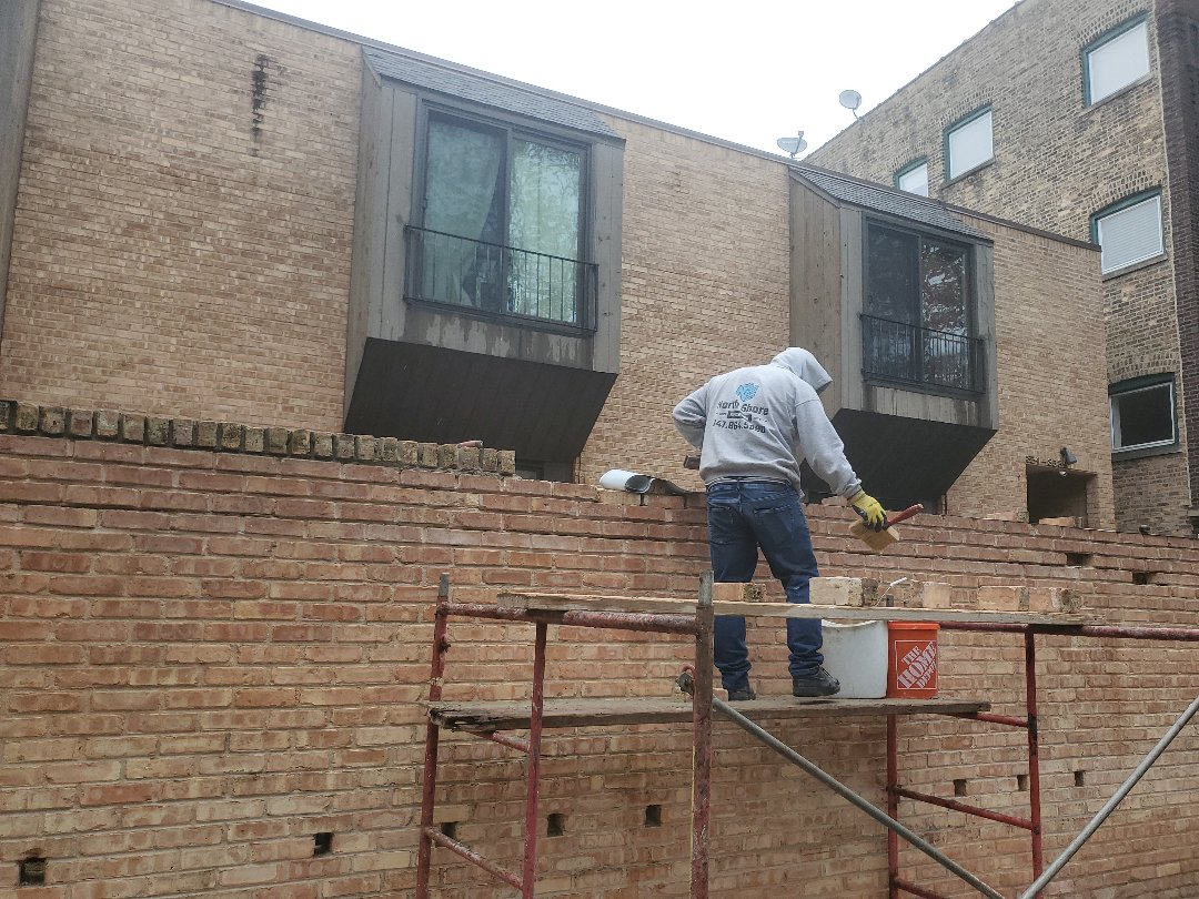 Chicago, IL - Repair masonry walls and clay coping call  NSBW for your masonry needs