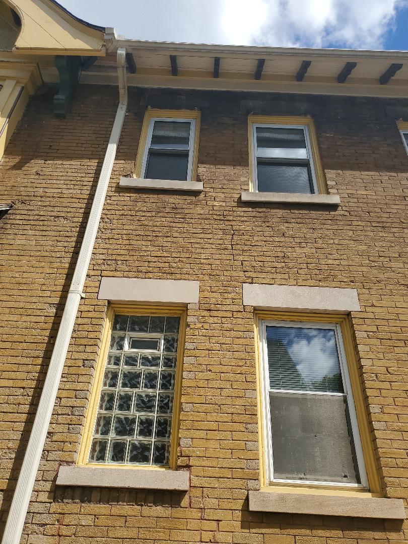 Restoration on bricks and tuckpointing call NSBW for your masonry needs