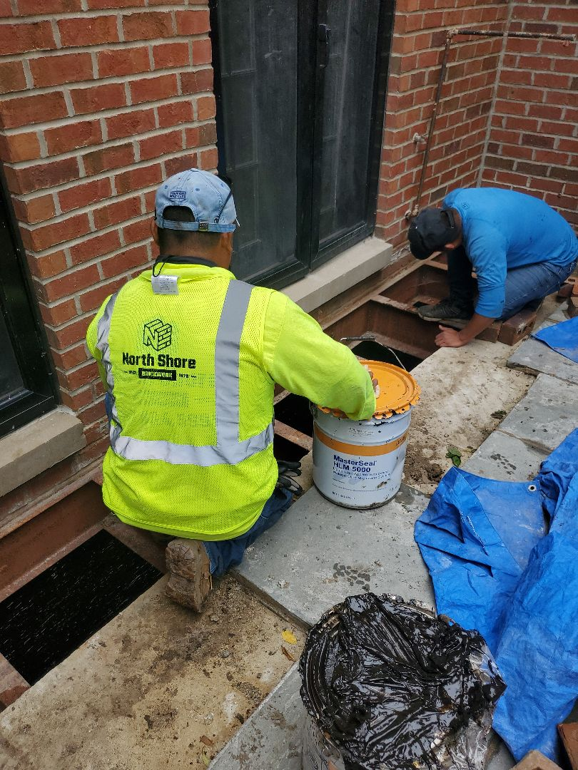 Water leaks call NSBW we Waterproof your basement call for your masonry repairs